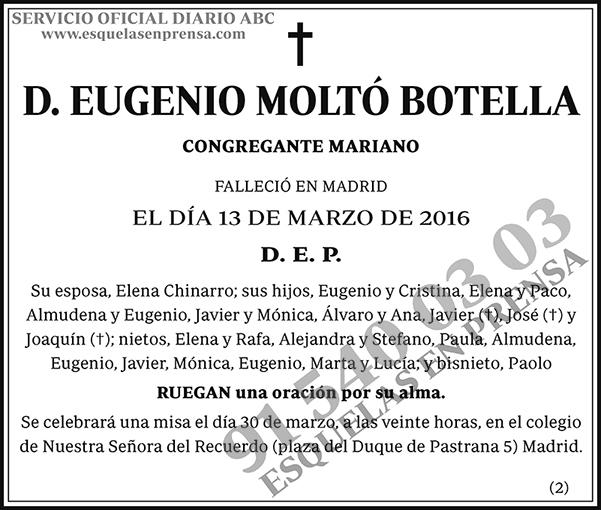 Eugenio Moltó Botella
